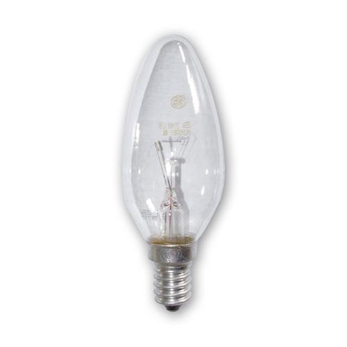 livraison gratuite lampe e14 230v 40w flamme claire code. Black Bedroom Furniture Sets. Home Design Ideas