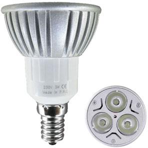 livraison gratuite ampoule led e14 3x1w blanc froid led e14 prozic. Black Bedroom Furniture Sets. Home Design Ideas