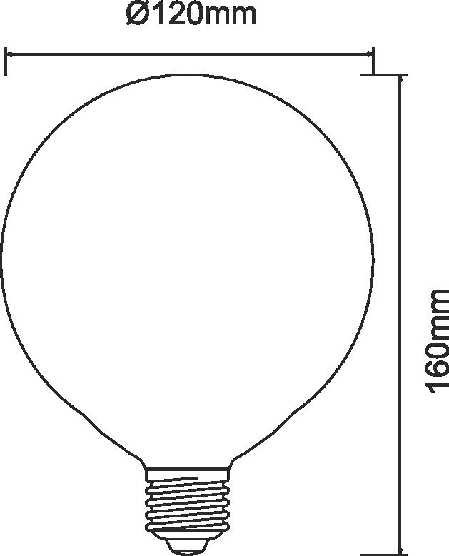 livraison gratuite ampoule beneito faure led globe 120mm e27 22w 3000k 2500 lumens led e27. Black Bedroom Furniture Sets. Home Design Ideas
