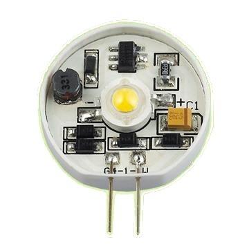livraison gratuite ampoule g4 1 led blanc chaud 12v 1w lampes led prozic. Black Bedroom Furniture Sets. Home Design Ideas