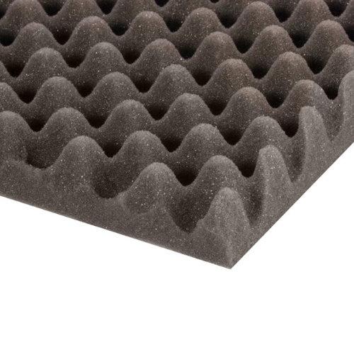 livraison gratuite mousse polyur thane alv ol e grise 200 x 100 x 5cm pour traitement acoustique. Black Bedroom Furniture Sets. Home Design Ideas