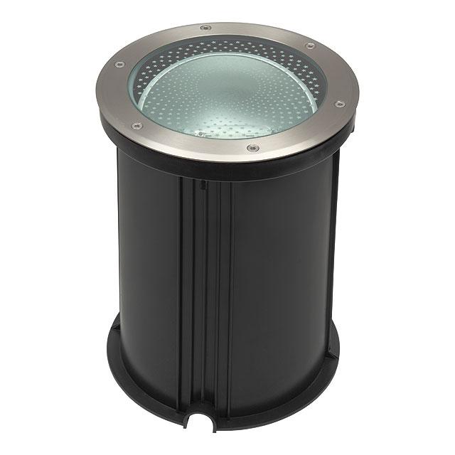 livraison gratuite luminaire ext rieur sol rond turo mth 70 iodure 70w encastr au sol prozic. Black Bedroom Furniture Sets. Home Design Ideas