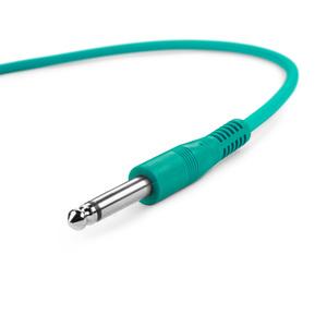 Adam Hall Cables K3 IPP 0015 SET - Jeu de 6 câbles patch 6,3 mm Jack Mono 0,15 m