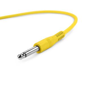 Adam Hall Cables K3 IPP 0090 SET - Jeu de 6 câbles patch 6,3 mm Jack Mono 0,90 m